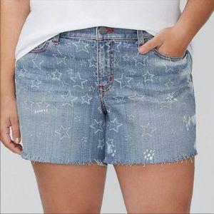 Lane Bryant Girlfriend Shorts in Printed Shorts 22